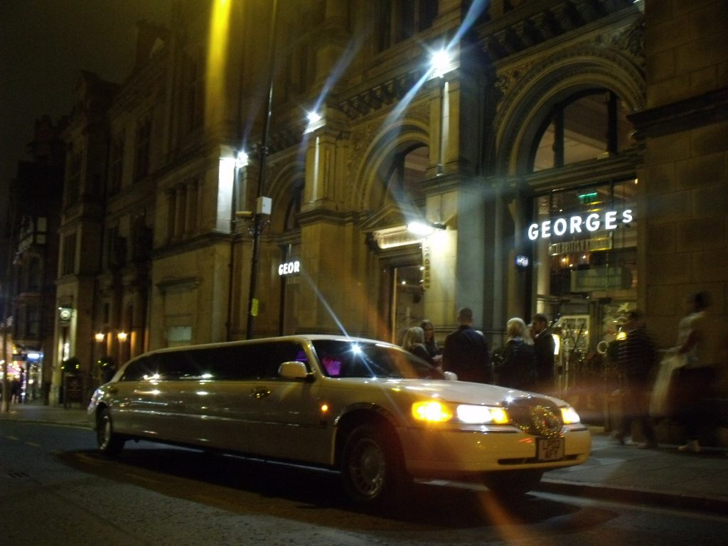christmas limo hire notttingham