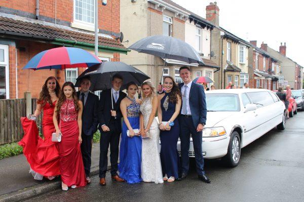 School Prom Limo Hire Nottingham