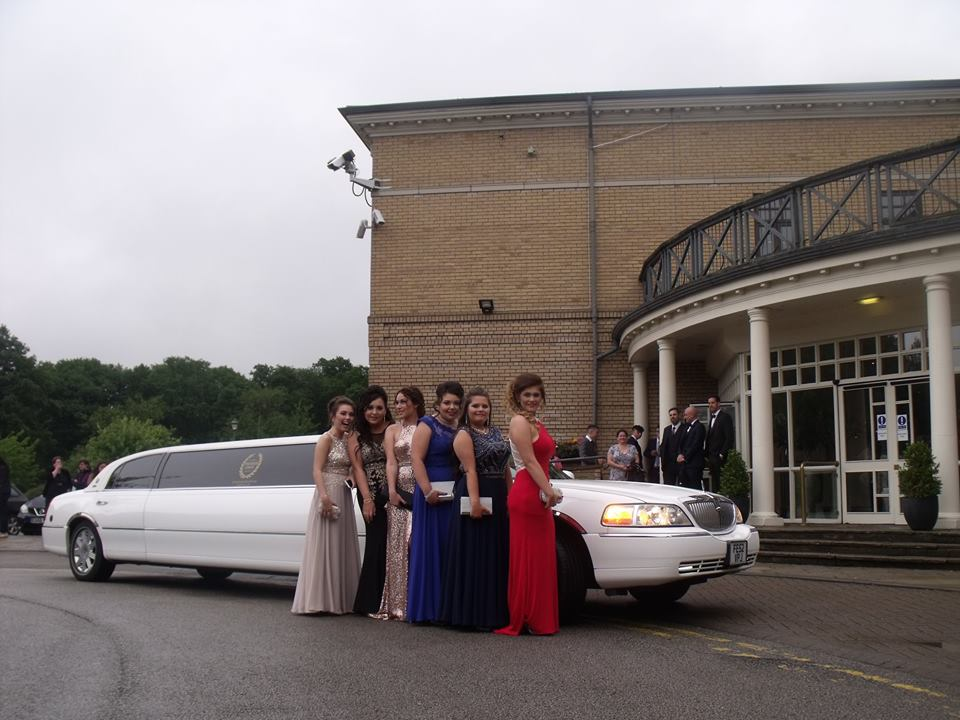 School Prom Limo Hire Nottingham