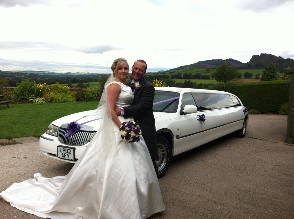 buxton wedding limo hire