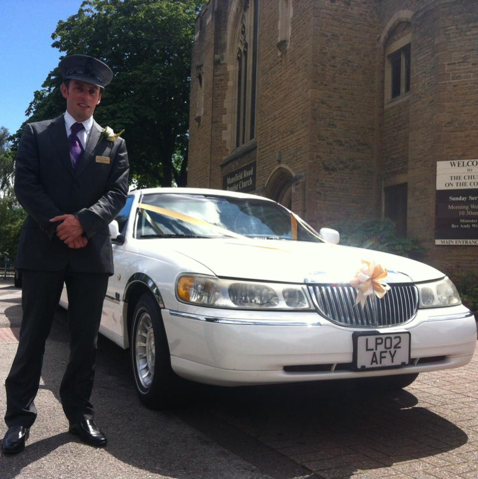 chauffeured limo hire nottingham