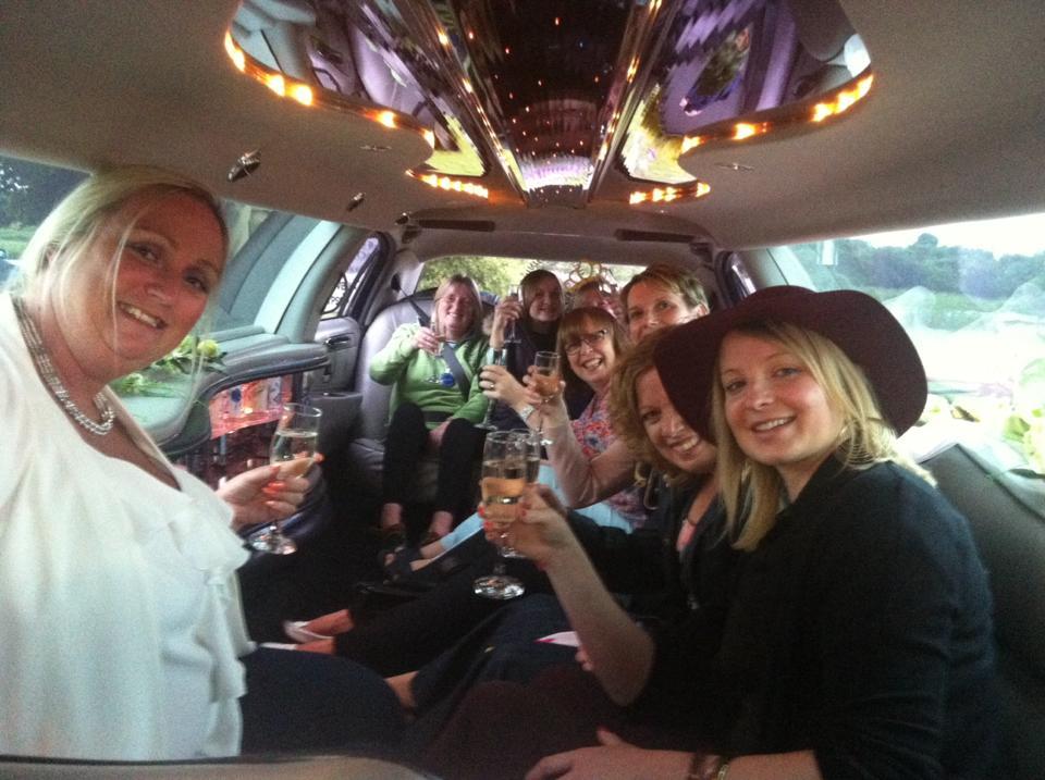 birthday limo hire nottingham