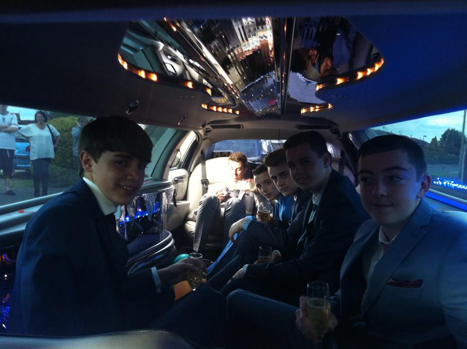 scool prom limo hire