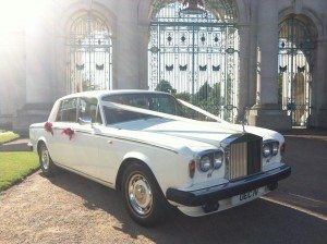 rolls royce wedding carr hire