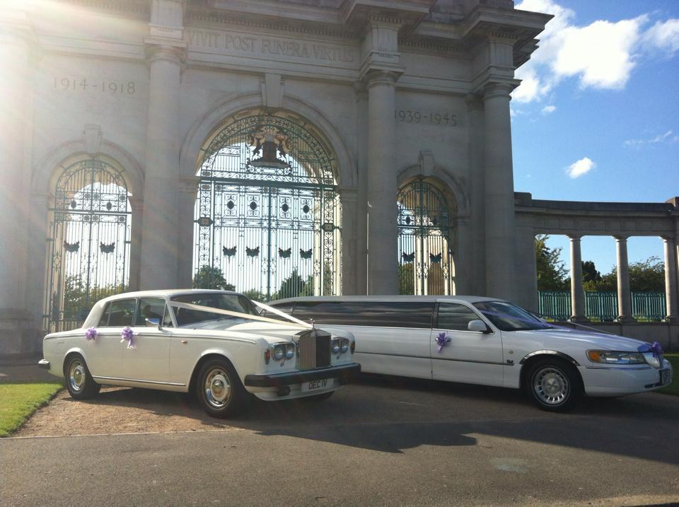 rolls royce & wedding limo