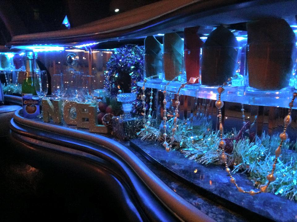 xmas limo party