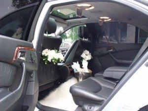 luxury modern wedding car hire