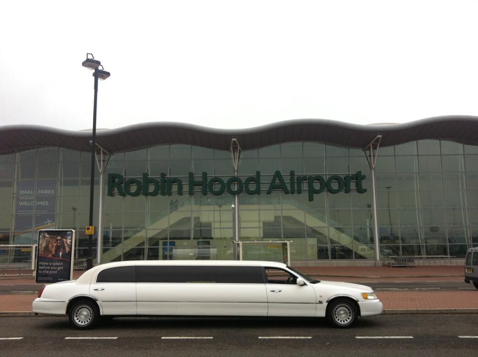 robin hood airport limo hire