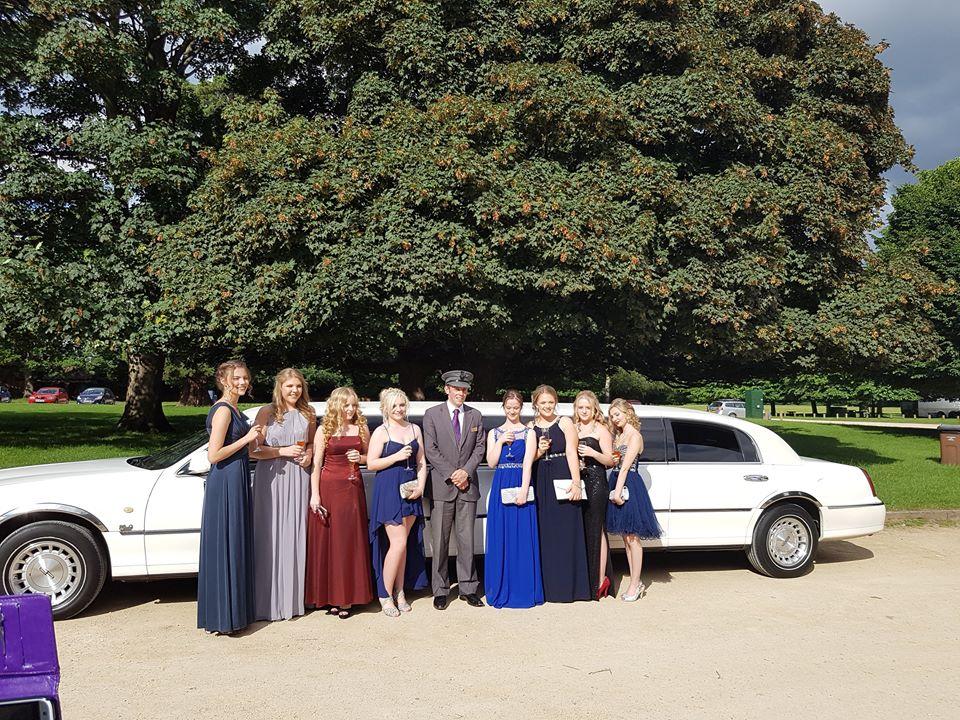 school prom limo nottingham
