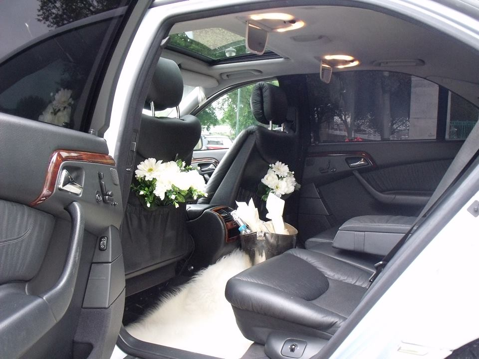 luxury budget wedding car nottingham