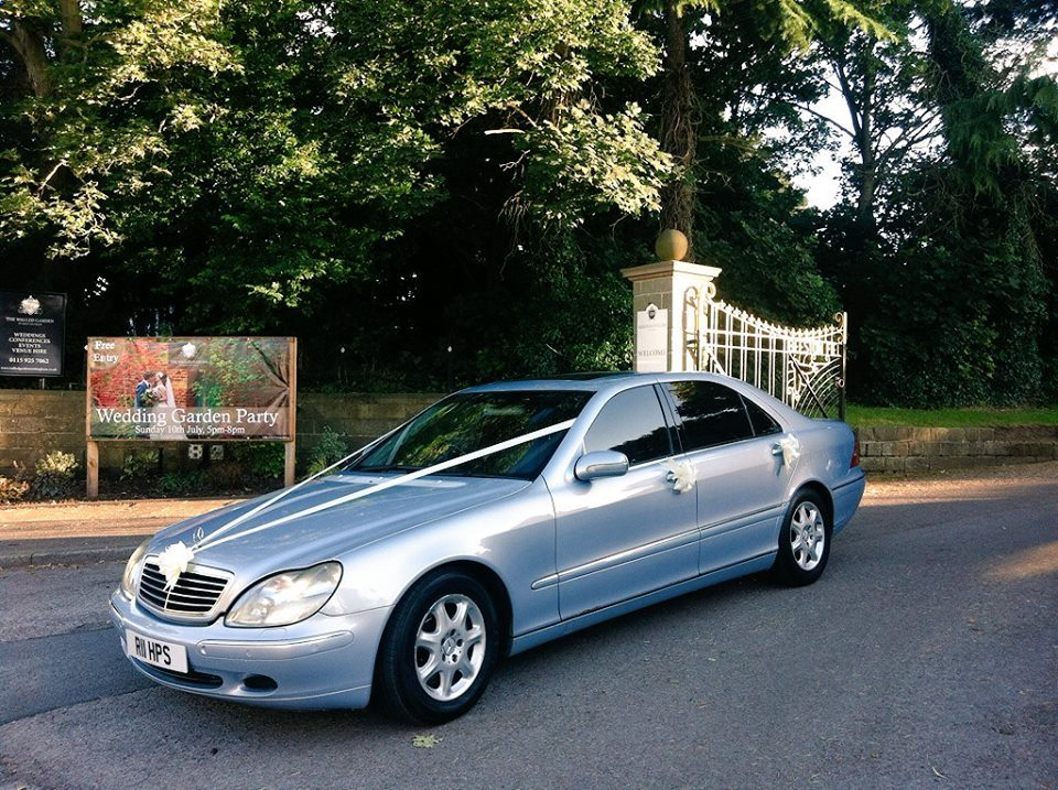 Mercedes wedding car hire nottingham
