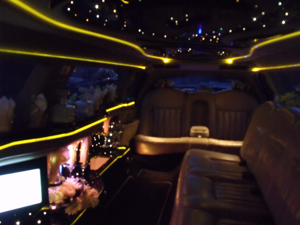 luxury limo hire nottingham
