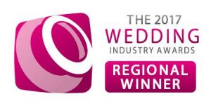 The Wedding Industry Awards Regional winner 2017