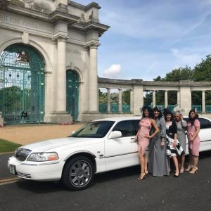 Limo hire nottingham, ladies day at the races