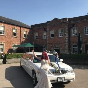 wedding limo hire nottingham