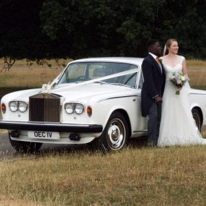 Rolls Royce wedding car hire nottingham