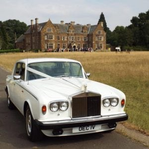 rolls royce wedding car nottingham