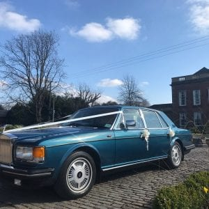 classic wedding car nottingham