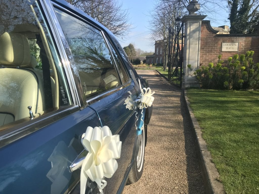 classic wedding car hire nottingham