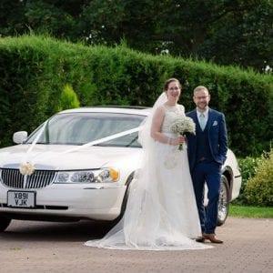 goosedale hall wedding car