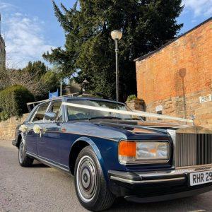 classic wedding car nottingham